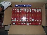 Țigări și petarde confiscate de polițiștii maramureșeni