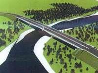 TIPIC ROMÂNESC - Noul pod peste Tisa se face în ritm de melc