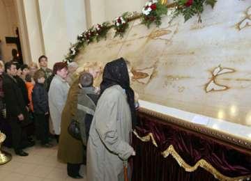 TORINO: Giulgiul lui Isus, expus în mod excepțional timp de două luni