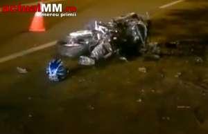 TRAGEDIE - POLIȚIST, decedat într-un accident de motocicletă la Sighetu Marmației