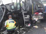 FOTO & VIDEO: TRAGEDIE - Trei cetățeni români au murit într-un accident rutier în Ungaria