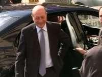 Traian Băsescu a ajuns la Parchetul General unde va fi audiat în calitate de suspect în dosarul Firea