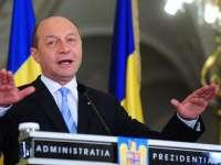 """Traian Băsescu: """"România mulțumește cetățenilor Republicii Moldova care au susținut drumul către UE"""""""