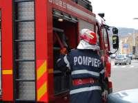 Trei incendii lichidate duminică de pompierii sigheteni