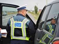 Trei infracţiuni constatate de poliţiştii rutieri pe drumurile din Maramureş