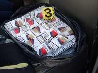 Trei minori depistați de polițiștii maramureșeni în timp ce transportau țigări de contrabandă