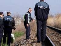 Trei tineri contrabandiști cu țigări, au sărit din tren ca să scape de polițiști
