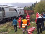 Trenul InterRegio Sighet - București, blocat după ce un tren marfar a deraiat la Dealul Ștefăniței