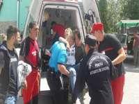 Turistă rănită la Cascada Cailor de la Borşa