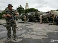 """Ucraina: Armata raportează distrugerea """"nucleului"""" rebelilor din Slaviansk. Mai multe persoane au fost arestate de către autorități"""