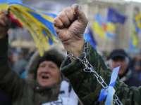 Ucraina în a 23-a zi de proteste. Aproximativ 4.000 de manifestanți în centrul Kievului