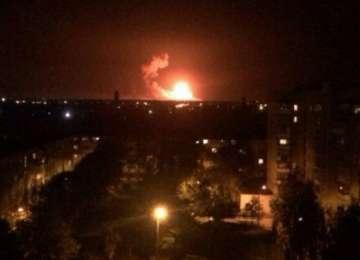 Ucraina - Spațiu aerian închis din cauza unui incendiu la un depozit de muniție