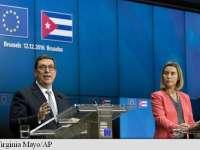UE și Cuba au semnat un acord pentru normalizarea relațiilor