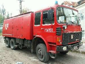 ULTIMA ORĂ - O mașină a luat foc pe strada Gheorghe Doja din Sighet