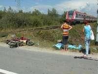 ULTIMA ORĂ - Un motociclist a fost lovit de tren la Seini