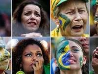 UMILINȚA MONDIALĂ: BRAZILIA-GERMANIA 1-7