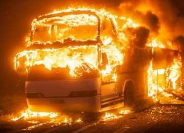 Un autocar în care se aflau 44 de români a ARS în Ungaria