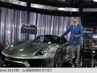 Un automobil Porsche 918 Spyder a intrat în colecția lui Ion Țiriac