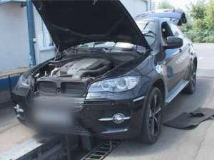 Un autoturism BMW X6, în valoare de 22.500 euro, a fost indisponibilizat în PTF Sighet