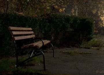 Un bărbat a fost lovit de o maşina, în timp ce se odihnea pe o bancă în parc