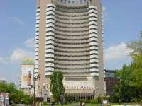 Un bărbat a murit după ce s-ar fi aruncat de la etajul 17 al hotelului Intercontinental din Capitală