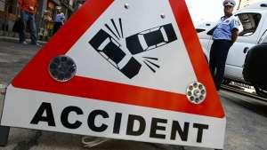 Un bărbat din Maramureș a produs un accident de circulație în orașul Beclean