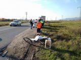 Un biciclist a fost lovit mortal de un TIR, pe şoseaua de centură a Băii Mari