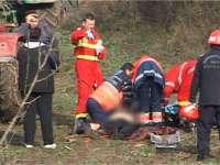 Un maramureșean a decedat după ce a căzut de pe o remorcă încărcată cu fân