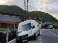 Un microbuz a fost implicat într-un accident pe DN18