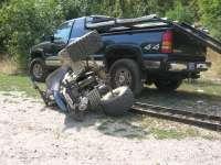 Un minor a ajuns în spital după ce a condus un ATV şi a provocat un accident de circulaţie