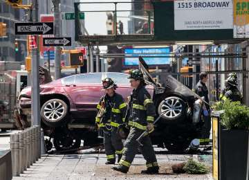 Un mort și 22 de răniți, în Times Square din New York, după ce un șofer a intrat cu mașina în pietoni