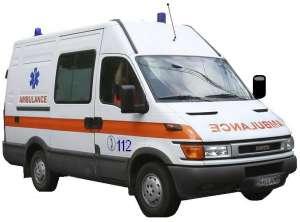 Un muncitor a căzut de la înalțime în timp ce lucra pe o schela în localitatea Băsești