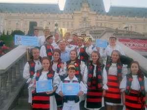 """Un nou succes la Festivalul International de Folclor """"Catalina"""" al Ansamblului folcloric """"Mugurelul"""""""
