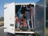 Un român care transporta ilegal 24 de afgani într-o camionetă a fost arestat în Austria