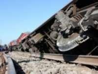 Un tren încărcat cu combustibil a deraiat în județul Cluj