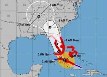 Uraganul Irma, avansat din nou la categoria 4, se află la 115 km de arhipelagul Florida Keys