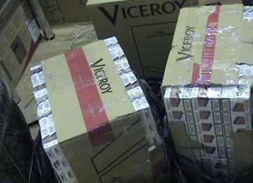 Valea Vişeului:  Ţigări de contrabandă descoperite lângă gară