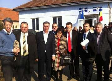 Valeriu Zgonea şi Remus Pricopie, în vizită în Maramureş
