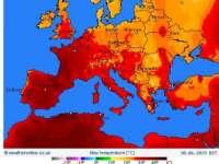 Valul de caniculă din Europa ar putea atrage și alte fenomene meteo extreme