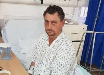 Vasluianul găsit bătut în Londra și-a amintit cum a ajuns în Marea Britanie și s-a întors în România