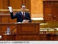 """Victor Ponta: """"Moțiunea - un eșec pentru PNL-PDL"""""""