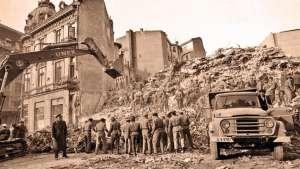 VIDEO: 55 de secunde de coșmar - Cutremurul din 4 martie 1977