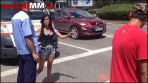 VIDEO - ACCIDENT: După ce a lovit o prostituată pe trecerea de pietoni, șoferul vinovat a fugit de la locul accidentului