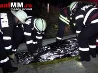 VIDEO - ACCIDENT MORTAL: Un bărbat a decedat și o maramureșeancă a fost grav rănită în drum spre Cluj Napoca