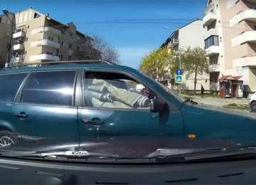 VIDEO - ACCIDENT surprins LIVE în Satu Mare