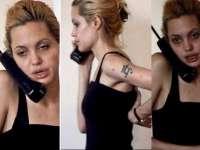 VIDEO: Angelina Jolie, de nerecunoscut în perioada în care era dependentă de heroină