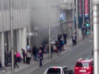 VIDEO: ATACURI TERORISTE LA BRUXELLES. Mai multe EXPLOZII la metrou. Zeci de călători au fost răniţi