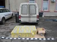 VIDEO - Autoturism Skoda, modificat special pentru transportul a 3.000 pachete ţigări de contrabandă