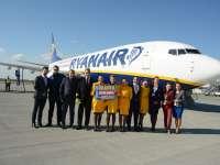 VIDEO: Azi a avut loc prima cursă de linie Ryanair de la Oradea, cu destinația Barcelona, Spania