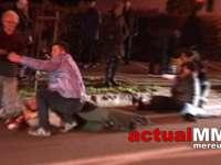VIDEO: BAIA MARE - Un consilier local a spulberat pe zebră doi pietoni, aceștia fiind grav răniți